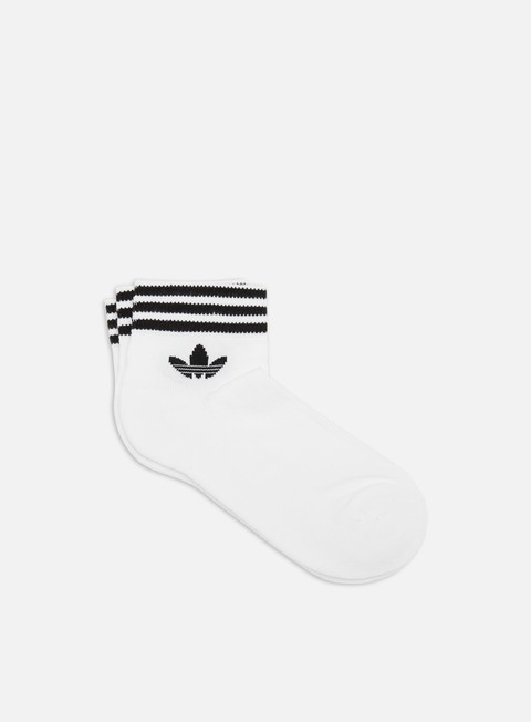 Calze Adidas Originals Trefoil Ankle Socks 3 Pack