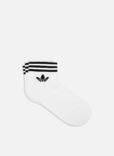 Outlet e Saldi Calze Adidas Originals Trefoil Ankle Socks 3 Pack