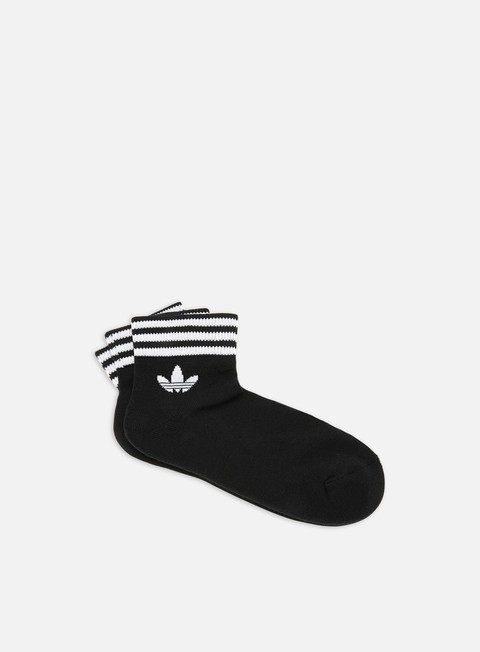 Outlet e Saldi Calze Adidas Originals Trefoil HC 3 Pair Ankle Socks