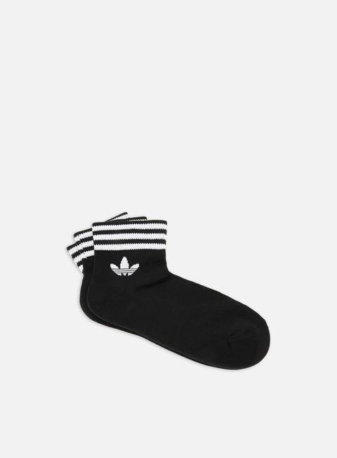 Outlet e Saldi Calze Adidas Originals Trefoil HC 3 Pair Ankle Socks