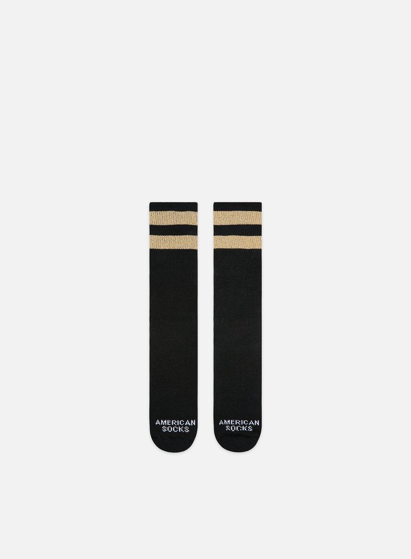 American Socks Gold Mid High