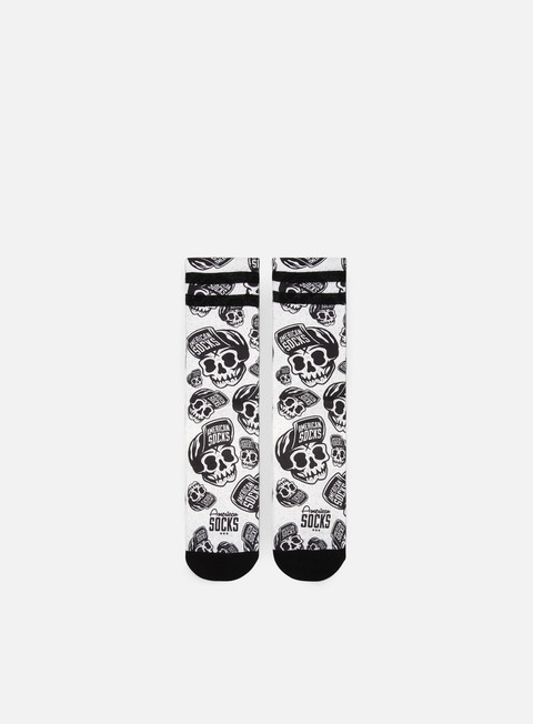 American Socks Skater Skull Signature Mid High