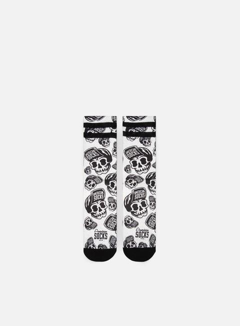 Calze American Socks Skater Skull Signature Mid High