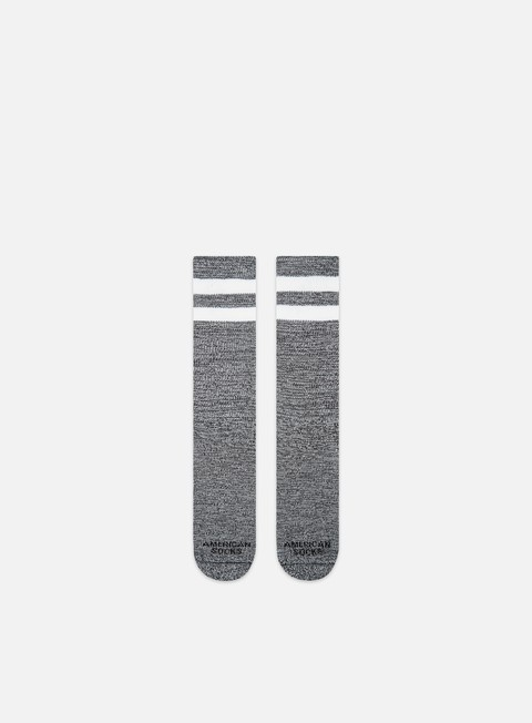 American Socks White Noise Mid High
