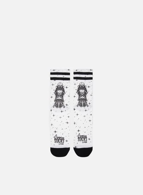 Outlet e Saldi Calze American Socks Wisemonkeys Signature Mid High