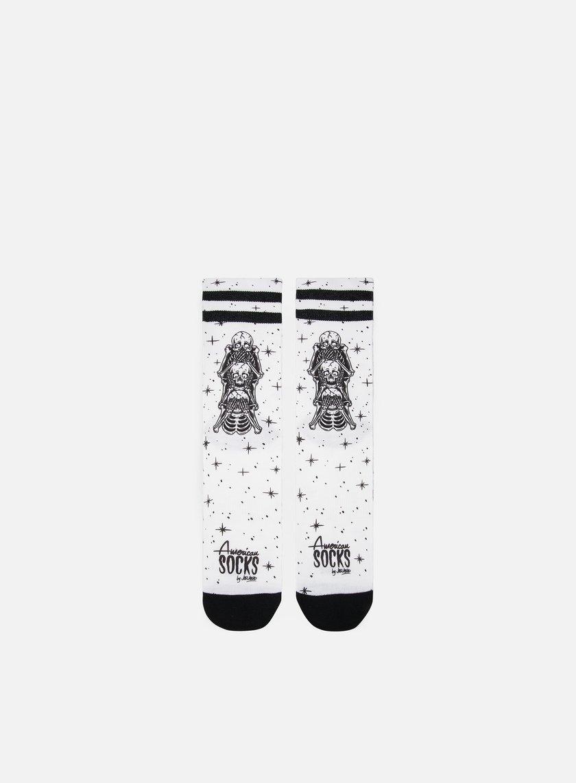 American Socks Wisemonkeys Signature Mid High