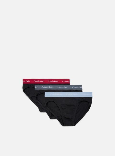 Calvin Klein Underwear Cotton Stretch 3 Pack Hip Brief