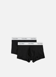 Calvin Klein Underwear - Modern Cotton 2 Pack Trunk, Black