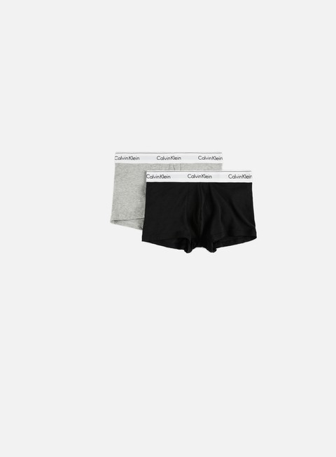 Outlet e Saldi Intimo Calvin Klein Underwear Modern Cotton 2 Pack Trunk
