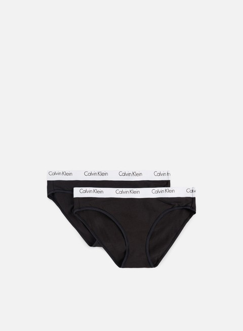 accessori calvin klein underwear wmns ck one cotton 2 pack bikini black