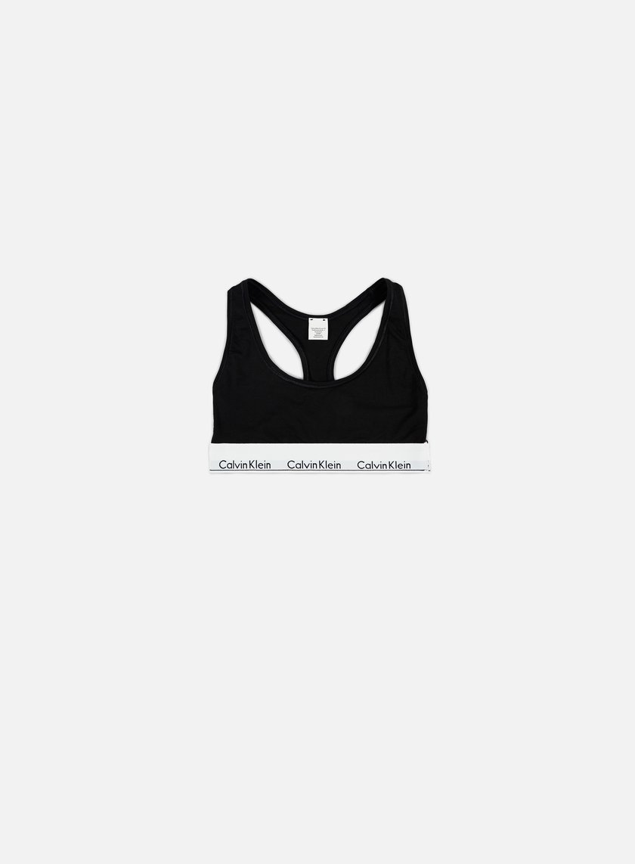 Calvin Klein Underwear - WMNS Modern Cotton Bralette, Black