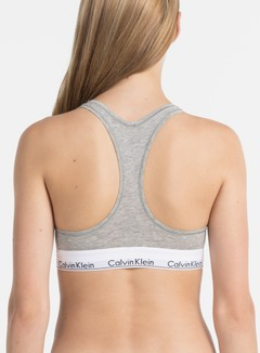 Calvin Klein Underwear - WMNS Modern Cotton Bralette, Grey Heather 4