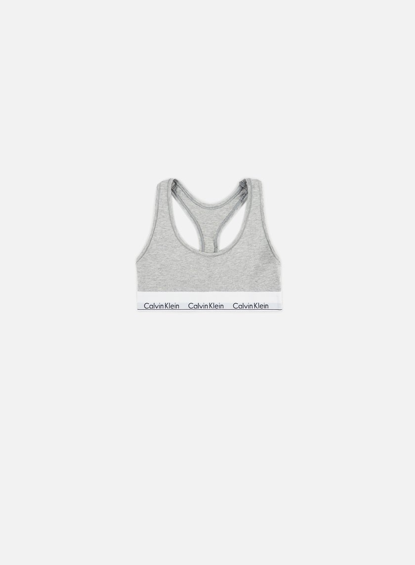 Calvin Klein Underwear - WMNS Modern Cotton Bralette, Grey Heather