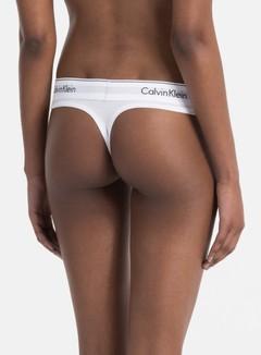 Calvin Klein Underwear - WMNS Modern Cotton Thong, White 3