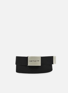 Carhartt - Clip Belt Chrome, Black