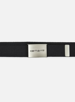 Carhartt - Clip Belt Chrome, Black 2