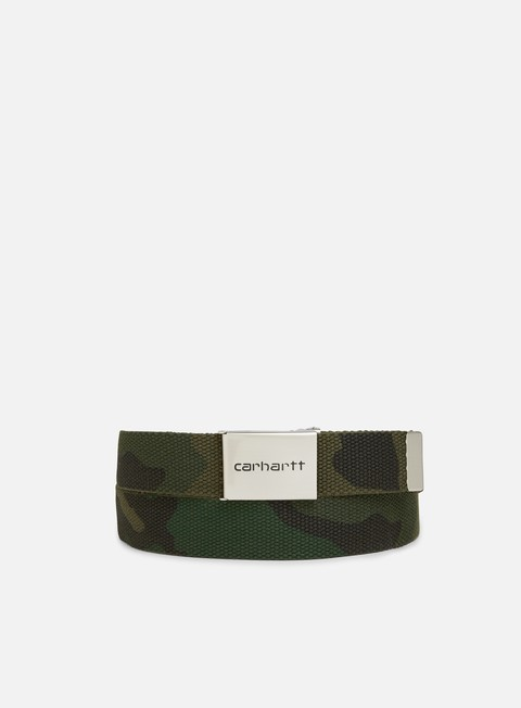 accessori carhartt clip belt chrome camo combat green