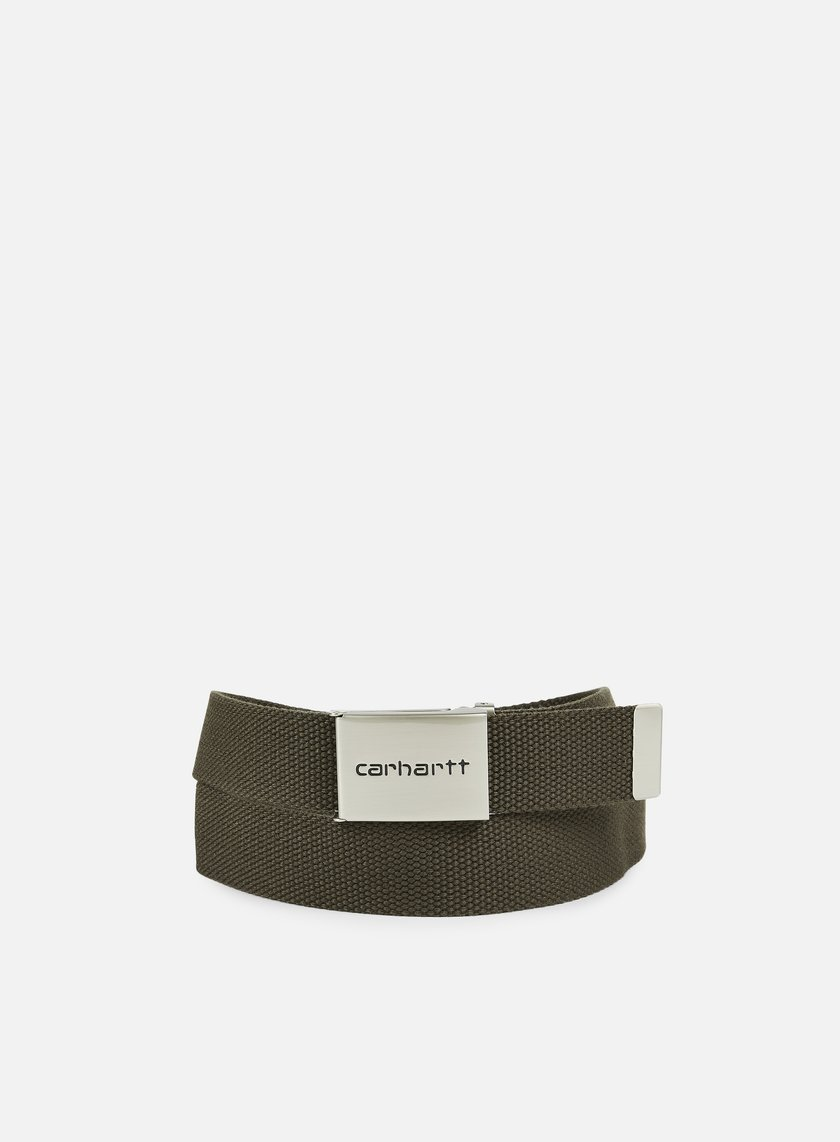 Carhartt - Clip Belt Chrome, Cypress