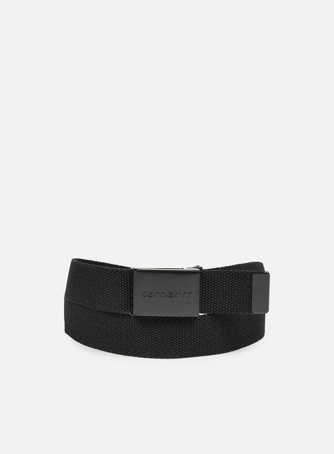 accessori carhartt clip belt tonal black