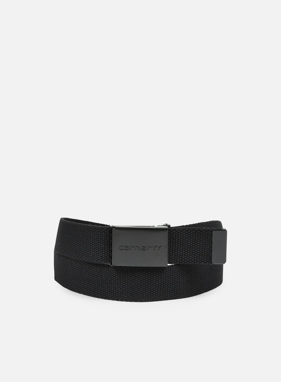 Carhartt - Clip Belt Tonal, Black