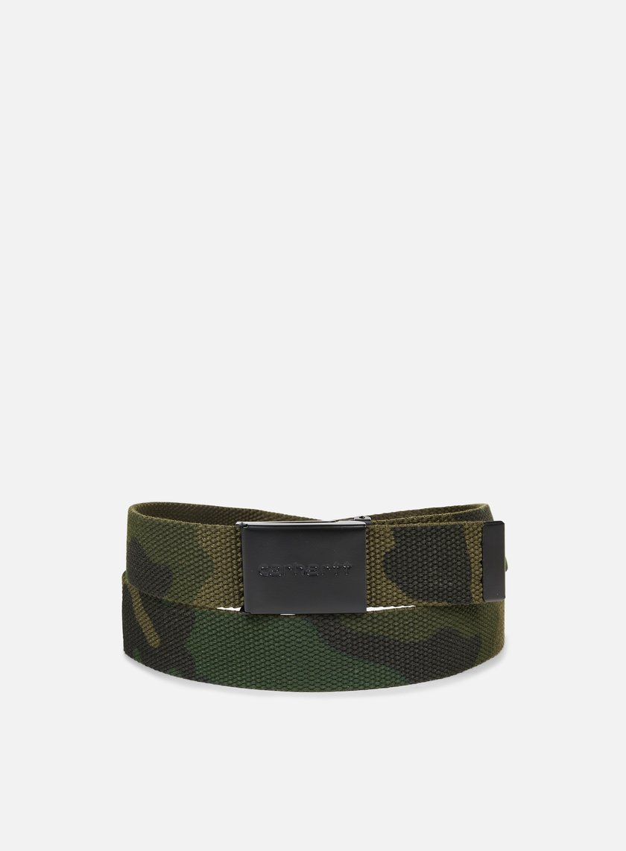 Carhartt - Clip Belt Tonal, Camo Combat Green