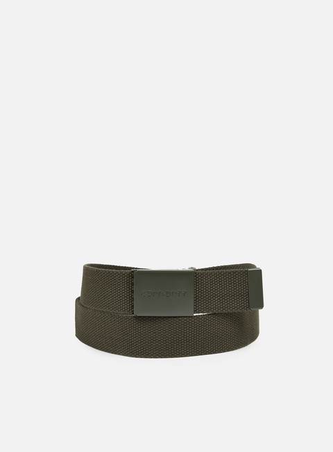 accessori carhartt clip belt tonal cypress