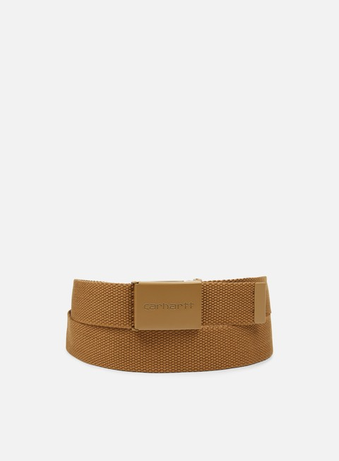 accessori carhartt clip belt tonal hamilton brown