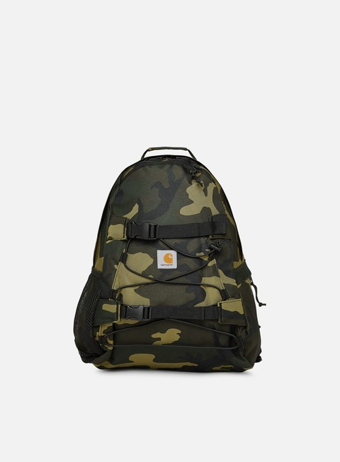 accessori carhartt kickflip backpack camo laurel