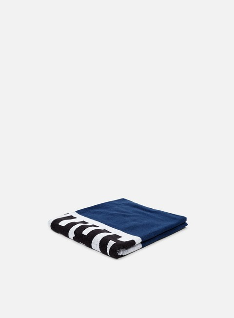 accessori carhartt shore towel blue white