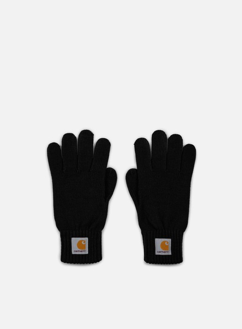 accessori carhartt watch gloves black