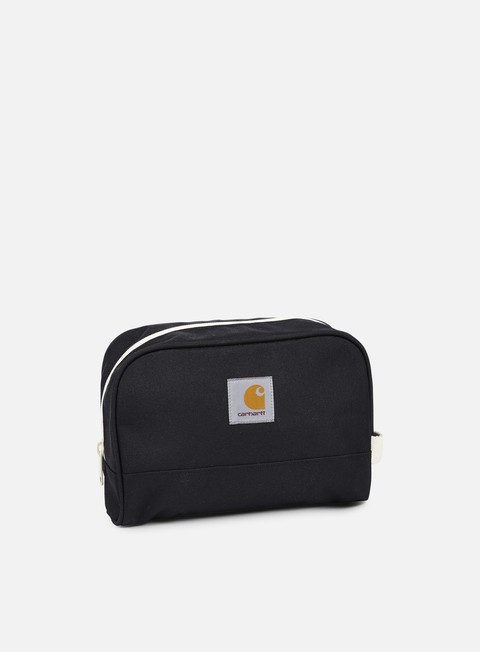 accessori carhartt watch travel case black
