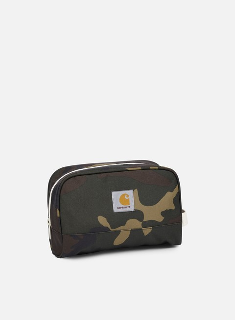accessori carhartt watch travel case camo laurel