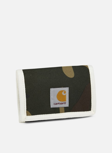accessori carhartt watch wallet camo laurel