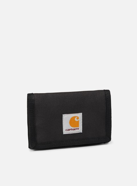 accessori carhartt watch wallet soot black