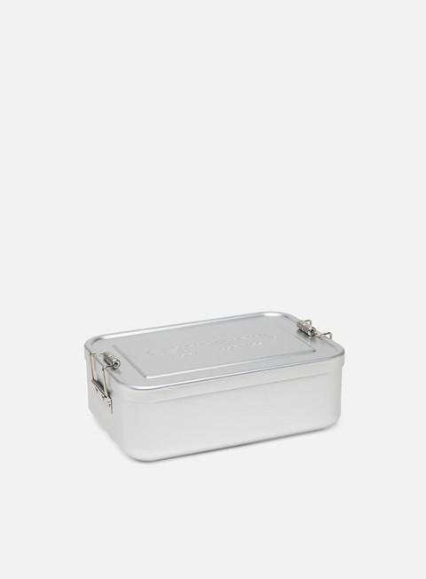Outlet e Saldi Accessori Vari Carhartt WIP Aluminium Lunch Box