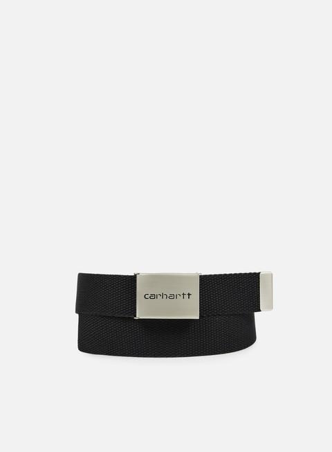 Belts Carhartt WIP Clip Belt Chrome