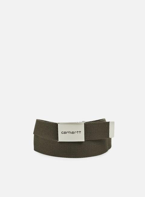 Cinture Carhartt WIP Clip Belt Chrome