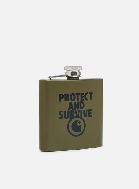 Outlet e Saldi Accessori Vari Carhartt WIP Protect And Survive Whiskey Flask