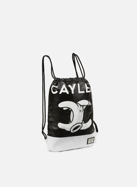 accessori cayler e sons no 1 gymbag black white