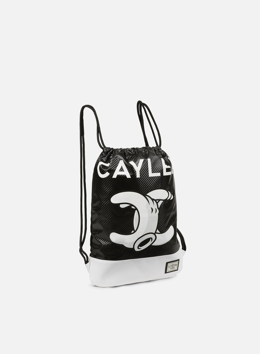Cayler & Sons - No. 1 Gymbag, Black/White