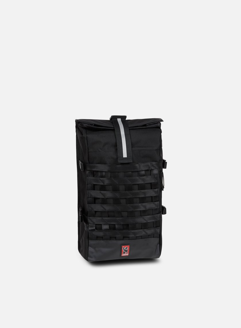 Chrome - Barrage Cargo Rolltop, Black/Black
