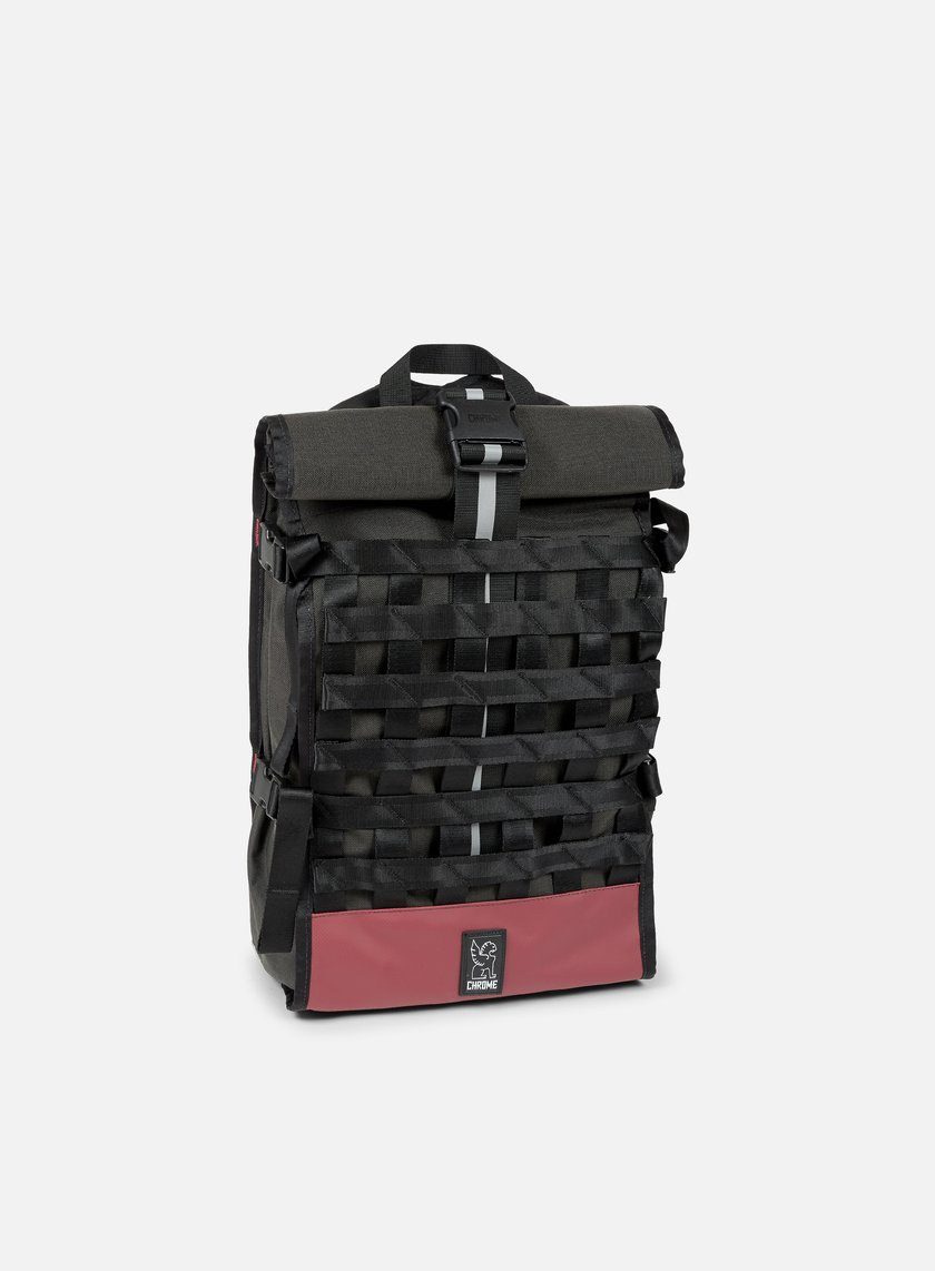 Chrome - Barrage Cargo Rolltop, Graphite/Crimson