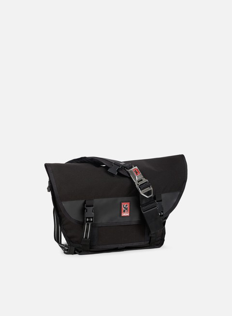 accessori chrome mini metro messenger black black