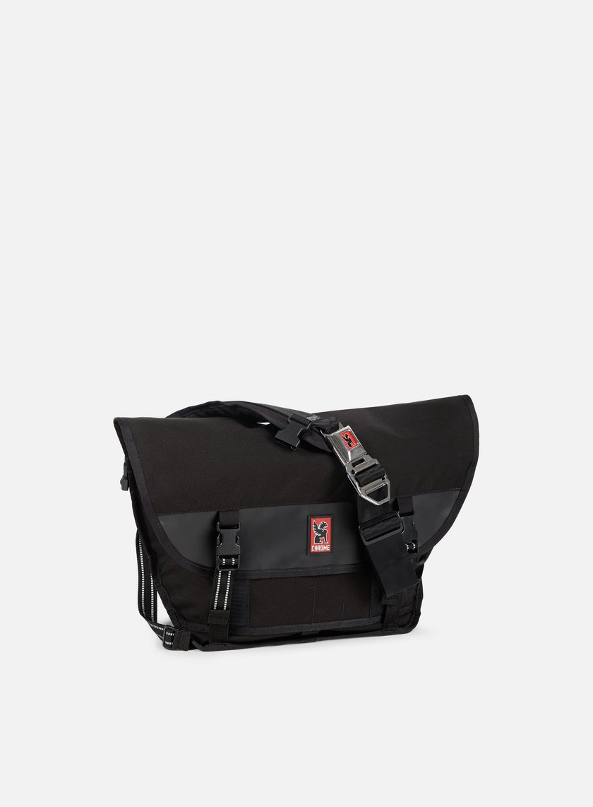 Chrome - Mini Metro Messenger, Black/Black