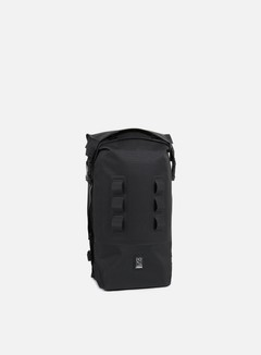 Chrome - Urban Ex Rolltop 18, Black/Black 1