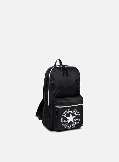 accessori converse ny core packable backpack black
