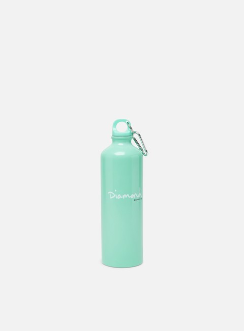 accessori diamond supply alluminium bottle diamond blue