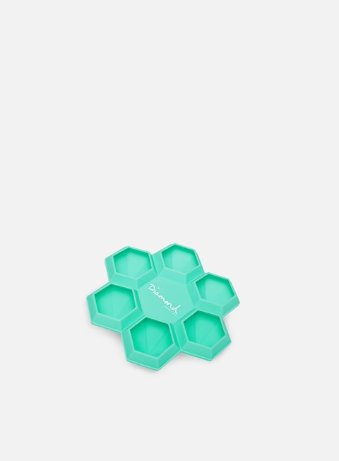 accessori diamond supply honeycomb ice tray diamond blue