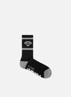Diamond Supply - Rock Sport Socks, Black 1