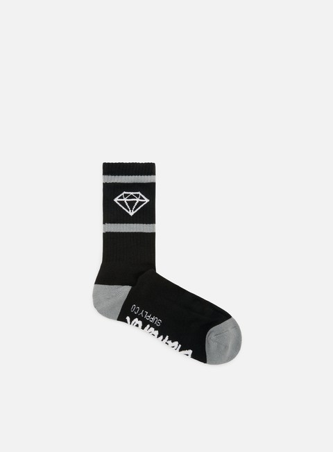 accessori diamond supply rock sport socks black